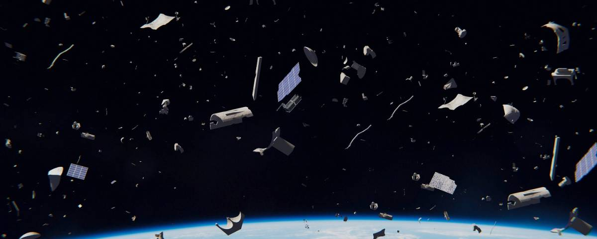 spazzatura spaziale
